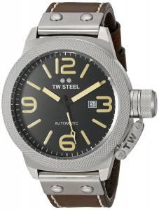 [ティーダブルスティール]TW Steel  Analog Display Quartz Brown Watch CS36 メンズ