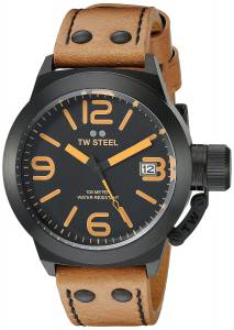 [ティーダブルスティール]TW Steel  Analog Display Quartz Brown Watch CS41 メンズ