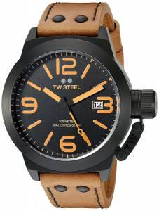 [ティーダブルスティール]TW Steel  Analog Display Quartz Brown Watch CS42 メンズ