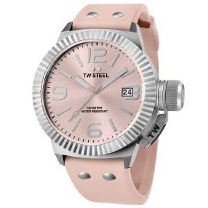 [ティーダブルスティール]TW Steel 腕時計 Canteen Watch Pink Dial TW540 レディース