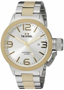 [ティーダブルスティール]TW Steel  Analog Display Quartz Two Tone Watch CB35 メンズ