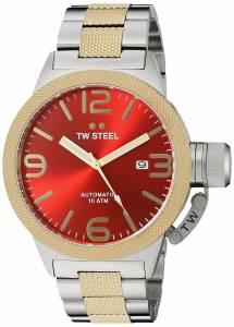[ティーダブルスティール]TW Steel  Analog Display Quartz Two Tone Watch CB75 メンズ