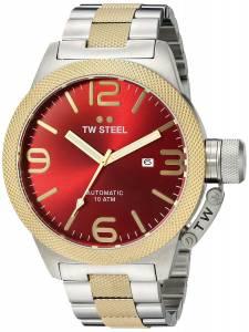 [ティーダブルスティール]TW Steel  Analog Display Quartz Two Tone Watch CB76 メンズ