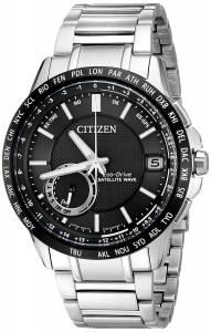 [シチズン]Citizen  Satellite Wave Analog Display Japanese Quartz Silver Watch CC3005-85E