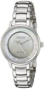 [シチズン]Citizen 腕時計 Circle of Time SilverTone Watch EM0380-81N レディース