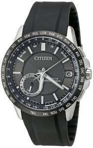 [シチズン]Citizen  Satellite Wave Analog Display Japanese Quartz Black Watch CC3005-00E