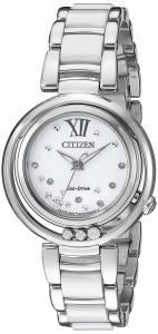 [シチズン]Citizen  Sunrise Analog Display Japanese Quartz Silver Watch EM0320-83A