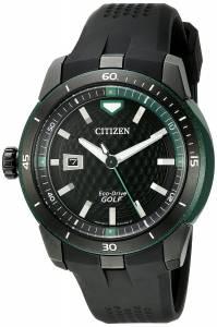 [シチズン]Citizen  Ecosphere Analog Display Japanese Quartz Black Watch AW1505-03E メンズ
