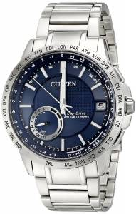 [シチズン]Citizen  Satellite Wave Analog Display Japanese Quartz Silver Watch CC3000-89L