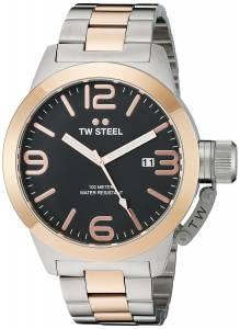 [ティーダブルスティール]TW Steel  Analog Display Quartz Two Tone Watch CB132 メンズ