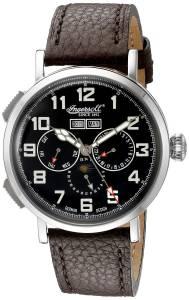 [インガソール]Ingersoll  De Weerd Analog Display Automatic Self Wind Black Watch IN1917SBK