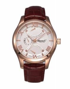 [インガソール]Ingersoll 腕時計 Brown Leather Strap Watch INQ017SLRS メンズ