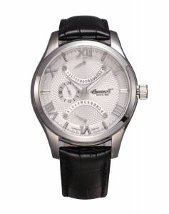 [インガソール]Ingersoll 腕時計 Black Leather Strap Watch INQ017SLBK メンズ