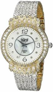 [バージ]Burgi 腕時計 Analog Display Japanese Quartz Silver Watch BUR120SSG レディース