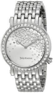 [ジューシークチュール]Juicy Couture  La Luxe Analog Display Quartz Silver Watch 1901279