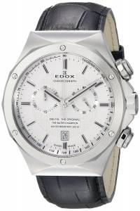 [エドックス]Edox  Delfin Analog Display Swiss Quartz Black Watch 10107 3C AIN メンズ
