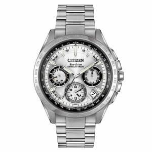 [シチズン]Citizen  Satellite Wave Analog Display Japanese Quartz Silver Watch CC9010-74A