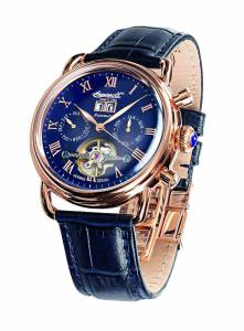 [インガソール]Ingersoll  Ellsworth Analog Display Automatic Self Wind Blue Watch IN8210RBL