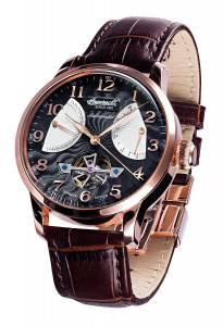 [インガソール]Ingersoll  Stetson Ii Analog Display Automatic Self Wind Brown Watch IN6910RBK
