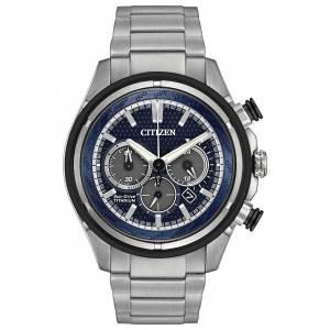 [シチズン]Citizen 腕時計 ECODRIVE WR100 TITANIUM BRACELET NAVY CA424082L CA4240-82L