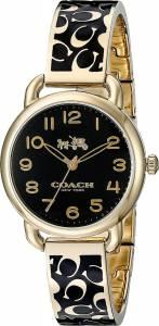 [コーチ]Coach 腕時計 Delancey 28mm Bangle Watch Black/Black Watch 14502374 レディース