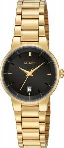 [シチズン]Citizen 腕時計 Quartz Gold Tone Stainless Steel Watch Case EU6012-58E [逆輸入]