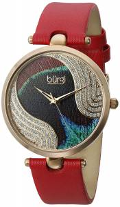[バージ]Burgi 腕時計 Analog Display Swiss Quartz Red Watch BUR131RD レディース