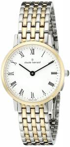 [クロードベルナール]claude bernard Gents Slim Line Analog Display Swiss 20201 357JM BR