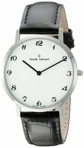 [クロードベルナール]claude bernard Gents Slim Line Analog Display Swiss Quartz 20202 3 BB