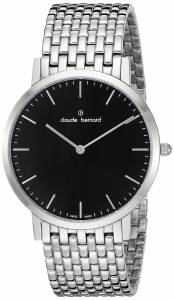 [クロードベルナール]claude bernard Gents Slim Line Analog Display Swiss Quartz 20202 3M NIN