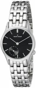 [クロードベルナール]claude bernard Classic Analog Display Swiss Quartz Silver 23095 3 NIN