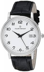[クロードベルナール]claude bernard Classic Gents Analog Display Swiss Quartz 53007 3 BB