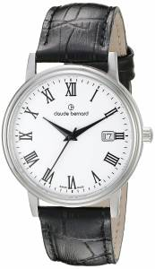 [クロードベルナール]claude bernard Classic Gents Analog Display Swiss Quartz 53007 3 BR