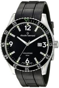 [クロードベルナール]claude bernard Aquarider Stainless Steel Watch with 53008 3NVCA NV