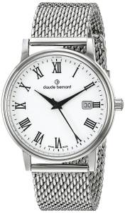 [クロードベルナール]claude bernard  Classic Gents Stainless Steel Watch 53007 3M BR
