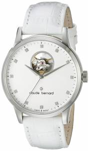 [クロードベルナール]claude bernard Automatic Open Heart Analog Display Swiss 85017 3 APN