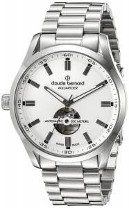 [クロードベルナール]claude bernard Aquarider Stainless Steel Automatic Watch 85026 3M AIN