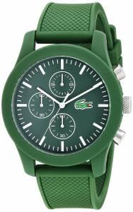 [ラコステ]Lacoste 腕時計 12.12 Analog Display Japanese Quartz Black Watch 2010822 メンズ