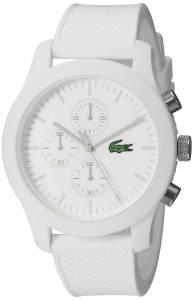 [ラコステ]Lacoste 腕時計 12.12 Analog Display Japanese Quartz Black Watch 2010823 メンズ