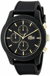 [ラコステ]Lacoste 腕時計 12.12 Analog Display Japanese Quartz Black Watch 2010826 メンズ