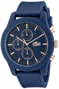 [ラコステ]Lacoste 腕時計 12.12 Analog Display Japanese Quartz Black Watch 2010827 メンズ