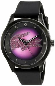 [ラコステ]Lacoste  Victoria Analog Display Japanese Quartz Black Watch 2000918 レディース