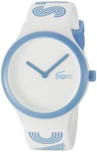 [ラコステ]Lacoste  Goa Analog Display Japanese Quartz White Watch 2020105 ユニセックス