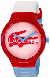 [ラコステ]Lacoste Goa Analog Display Japanese Quartz Red/White/Blue Watch 2020100 2020100