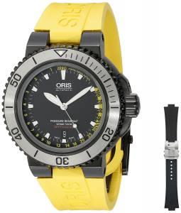 [オリス]Oris 腕時計 Analog Display Swiss Automatic Yellow Watch Set 73376754754SET メンズ