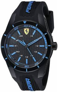 [フェラーリ]Ferrari  REDREV Analog Display Japanese Quartz Black Watch 0830247 メンズ