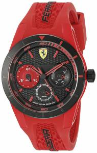[フェラーリ]Ferrari  REDREV T Analog Display Japanese Quartz Red Watch 0830258 メンズ