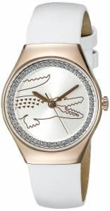 [ラコステ]Lacoste  VALENCIA MEDIUM Analog Display Japanese Quartz White Watch 2000896