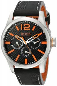 [ヒューゴボス]HUGO BOSS BOSS Orange PARIS Analog Display Japanese Quartz Black Watch 1513228