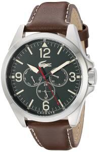 [ラコステ]Lacoste  Montreal Analog Display Japanese Quartz Brown Watch 2010806 メンズ